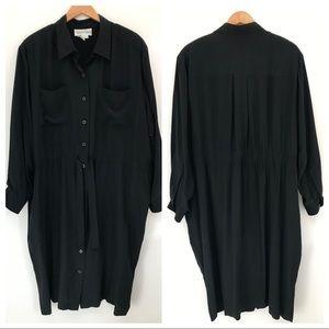 EUC Diane Von Furstenberg Silk button front dress